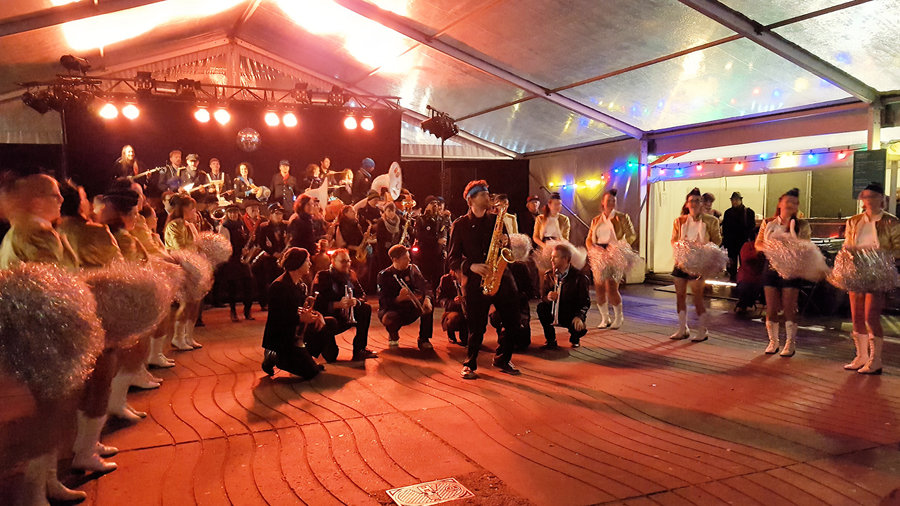 sfeerbeeld Winters Geluk 2017 | fanfare