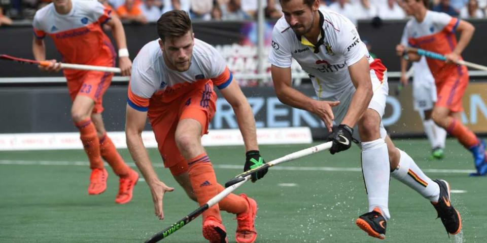 Een spannende wedstrijd tussen de Red Lions en Nederland