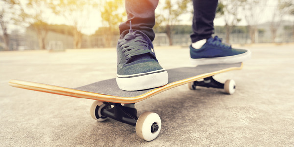 Skateterrein Robinsontuin op Linkeroever