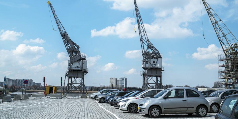 Mobiliteit en Parkeren Antwerpen  - parking rijnkaai