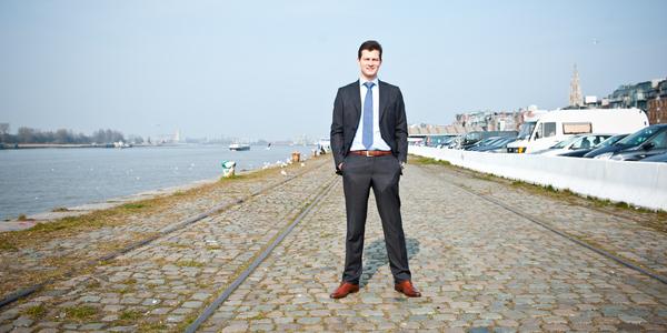 Organisator Pieter Dejaeger van Jumping Antwerpen