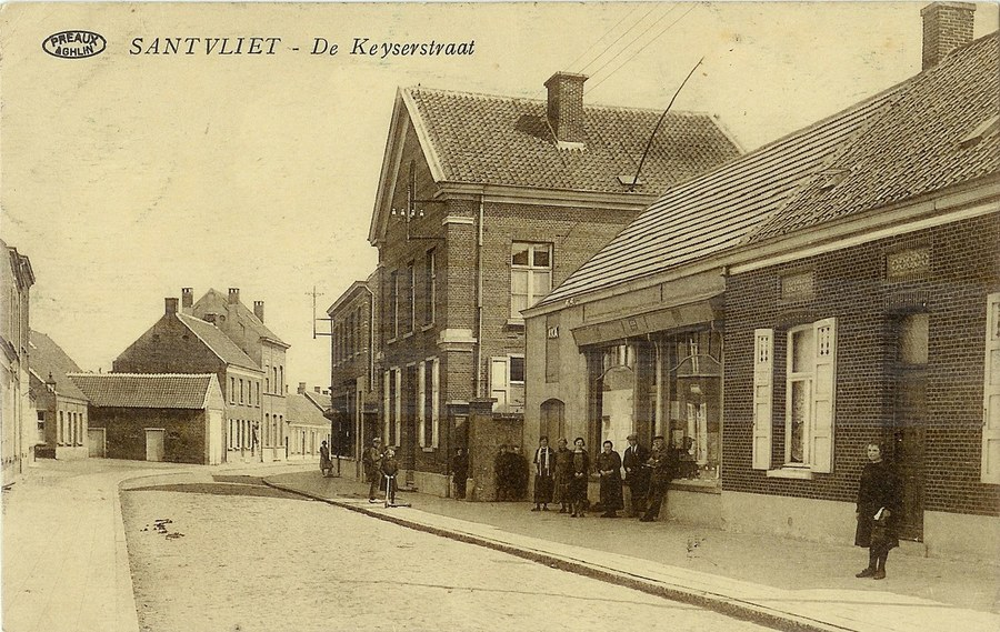 Voormalige stedelijke basisschool. De Keyserhoeve 66.