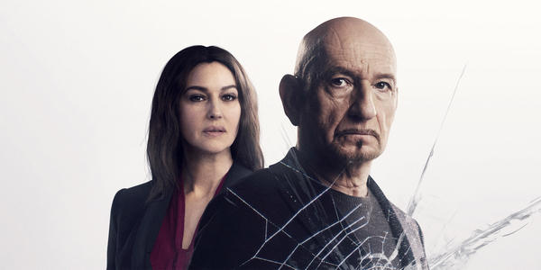 Beeld uit film Spider in the Web: Monica Bellucci en Ben Kingsley