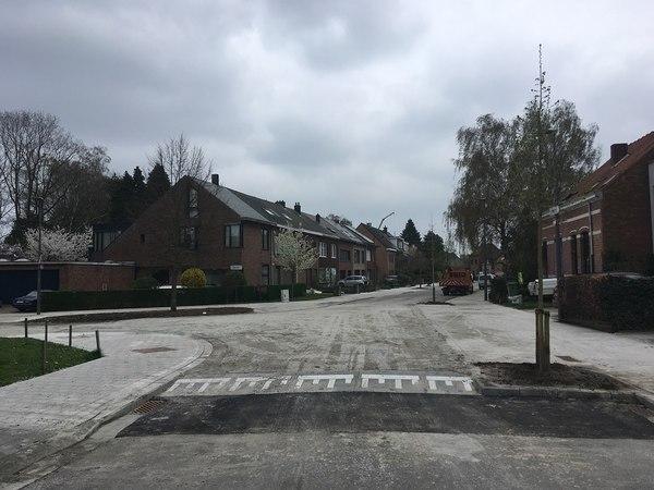Nieuwe Herautenlaan bij openstelling.
