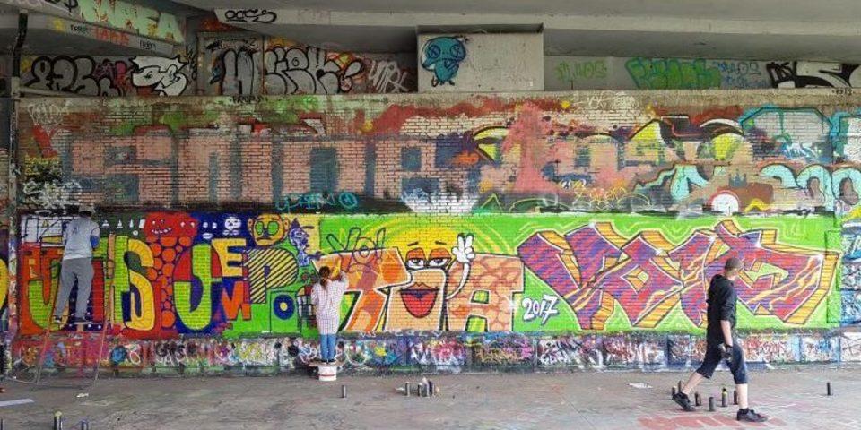 Masterclass street-art met Steve Locatelli