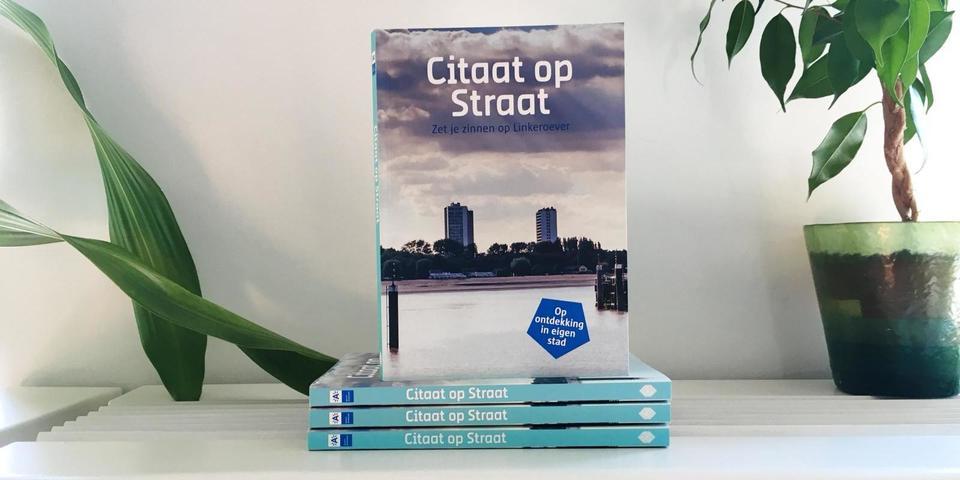 Citaten Uit Literatuur : Citaat op straat: een literair wandelboek over linkeroever info