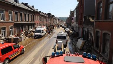 Antwerpen leeft mee met slachtoffers watersnood