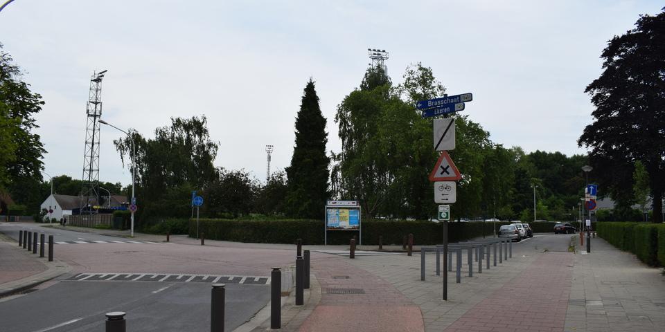 Kruispunt Terlindenhofstraat - Speelpleinstraat