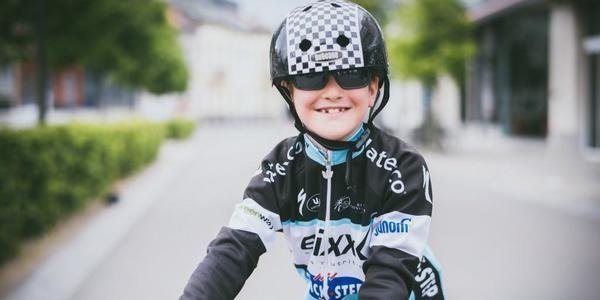Deelnemer aan de Kids Race