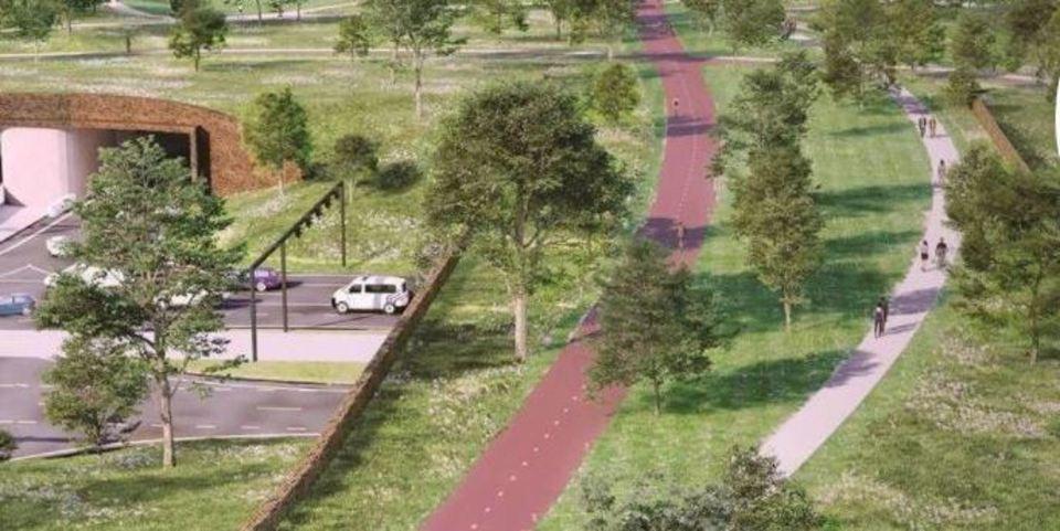 De Grote Verbinding - Ringpark Groenendaal