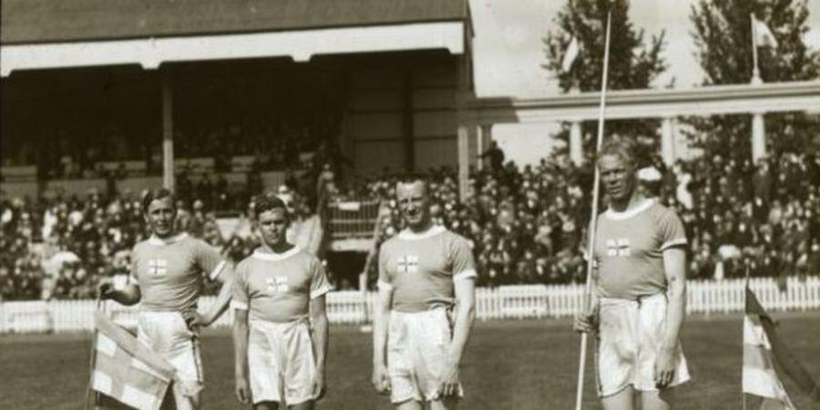 Speerwerpers Olympische Spelen 1920
