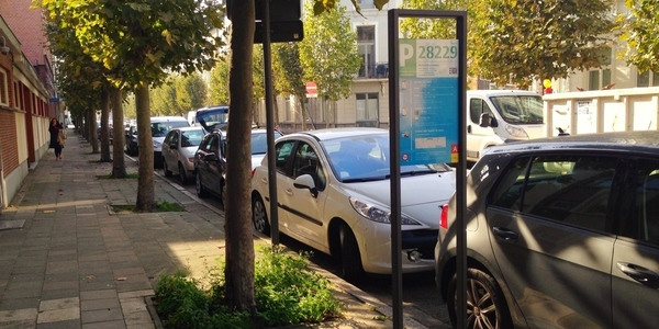 Informatiebord betalend parkeren