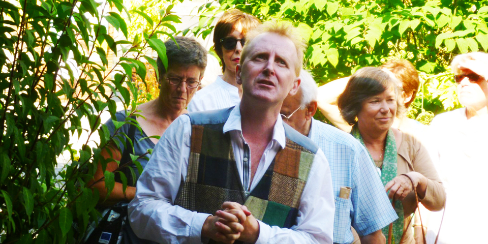 Gedichtenwandeling met Peter Holvoet-Hanssen
