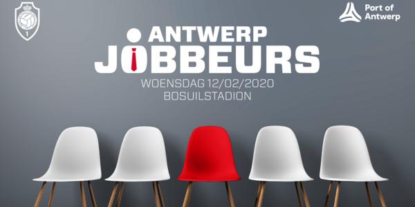 Eerste Antwerp Jobbeurs op de Bosuil