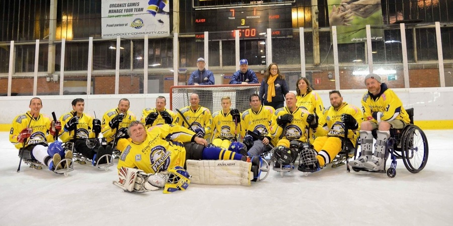 Sledgehockey Antwerp Phantoms