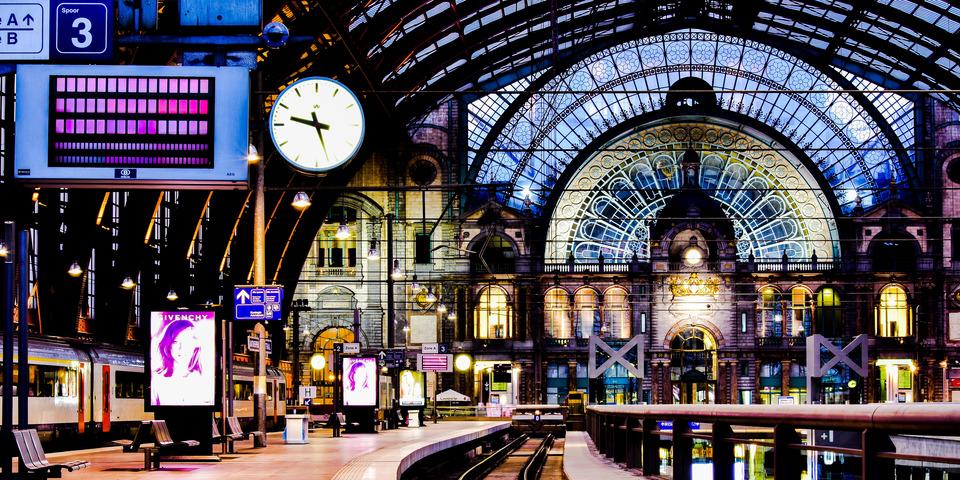 Foto uit de expo 'Cityscapes'