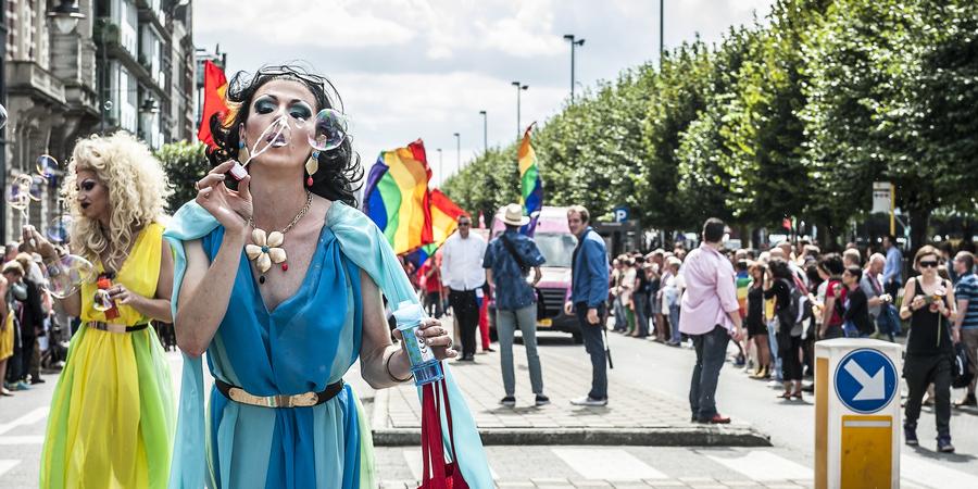 Beelden van Antwerp Pride 2017: parade