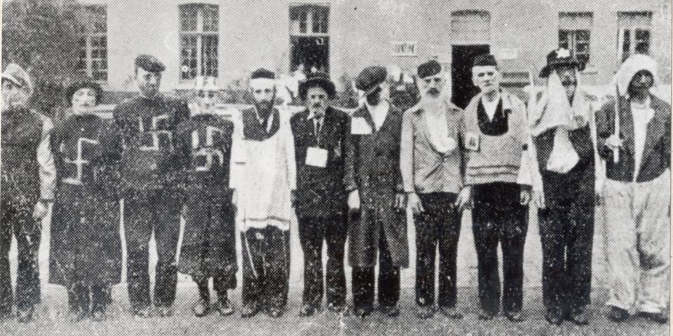 Joodse krijgsgevangen die opgepakt zijn door de nazi's tijdens WOII