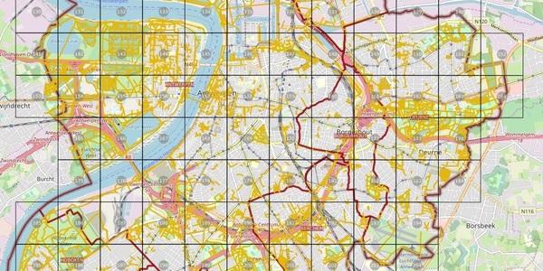 Het voorlopige plan met de Antwerpse trage wegen