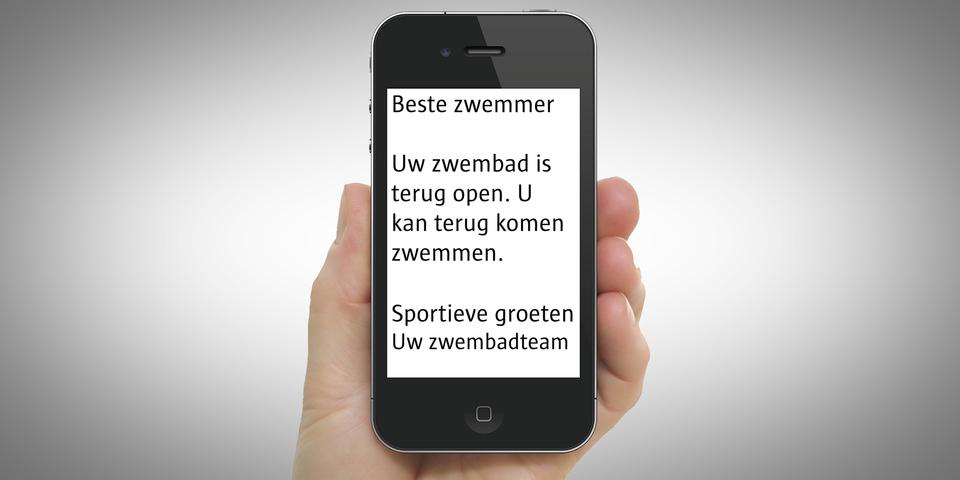 SMS zwembaden