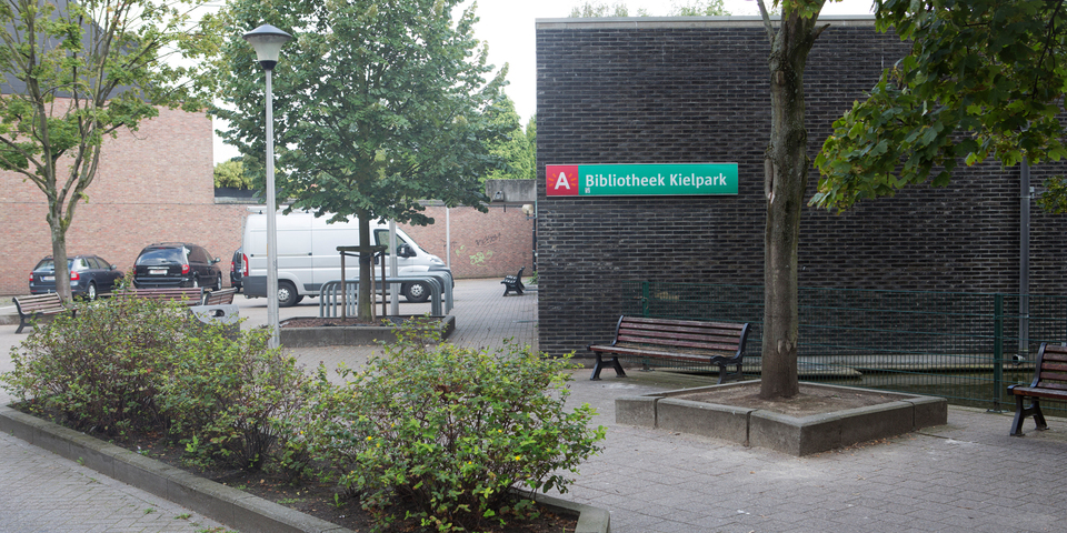 Ingang bibliotheek Kielpark
