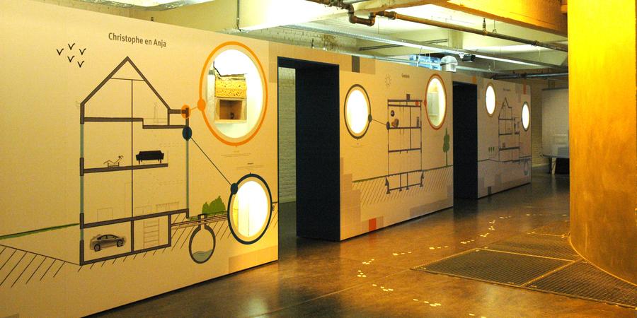 Tentoonstelling EcoHuis: verbouwing huis