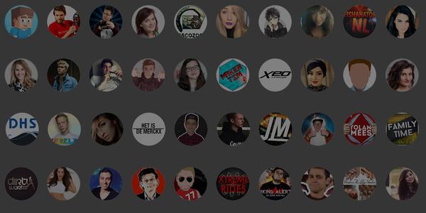 Belgische en Nederlandse Youtube-sterren