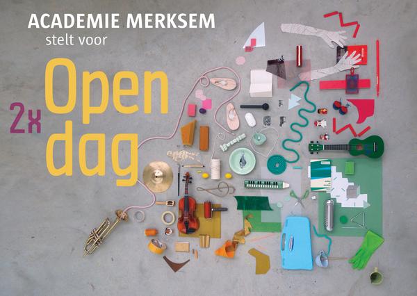 Affiche opendag academie Merksem