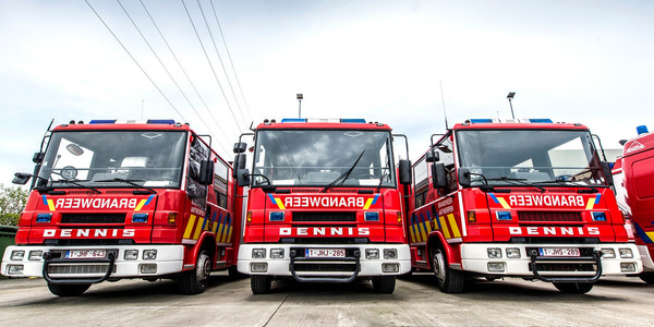 Brandweerwagens