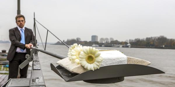 Afscheid aan de Schelde