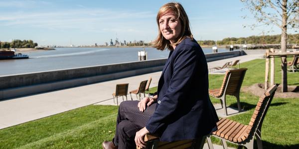 Evy Kinoo, projectleider bij Ag VESPA
