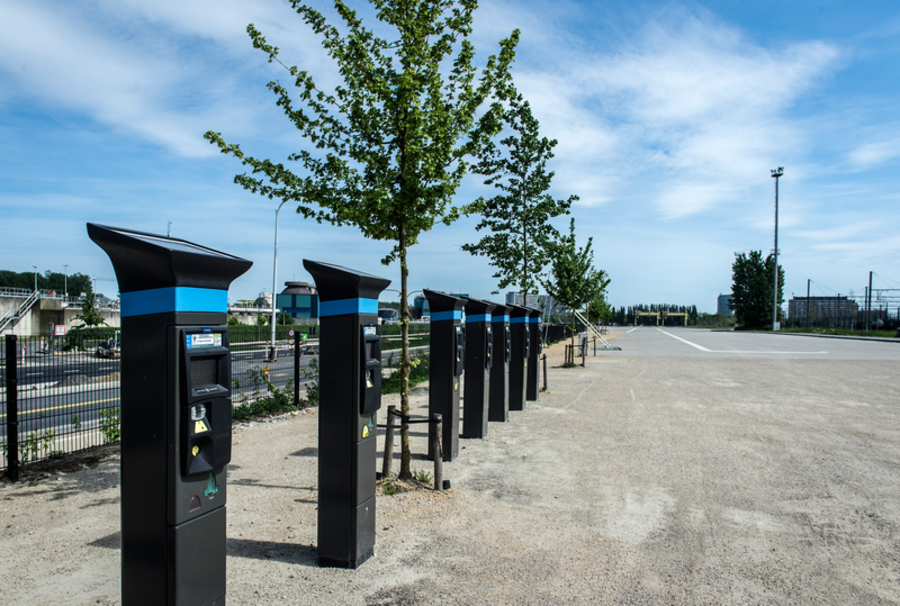 Parking Spoor Oost