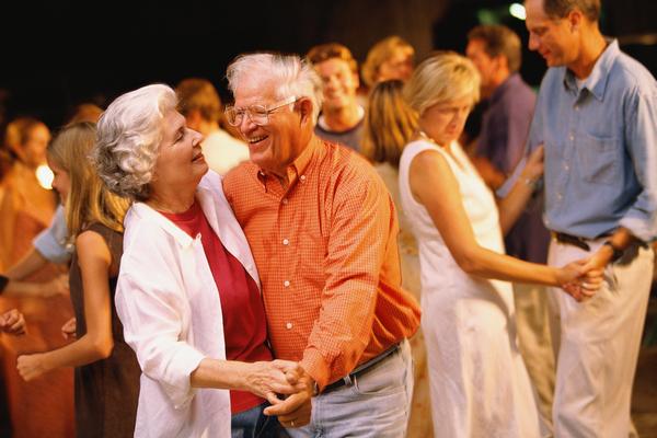 Dansende senioren