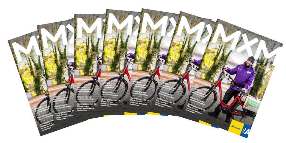 cover van het magazine MXM