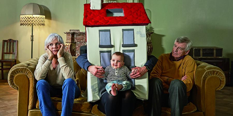 Drie huurders in een zetel.