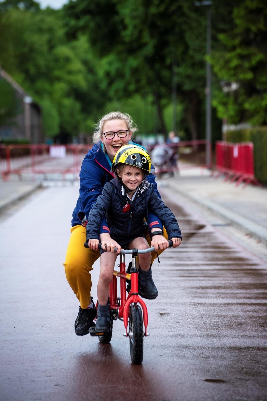 Gekke fietsen fietsenparcours