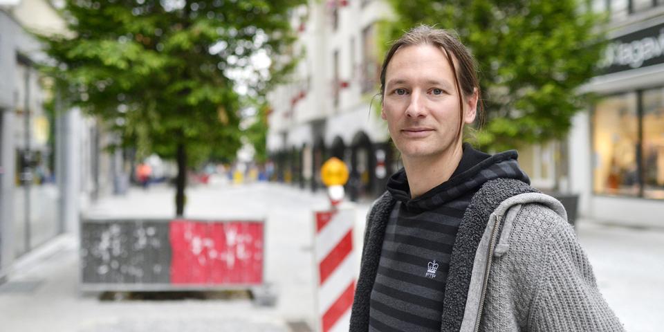 Gert, ingenieur, vertelt waarom je moet solliciteren voor de vacature: projectleider infrastructuurwerken bij stad Antwerpen