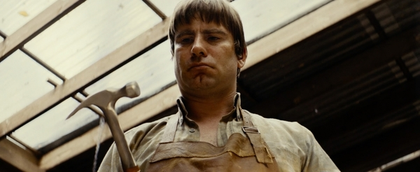 Acteur Kevin Janssens in een scene uit 'De Patrick'