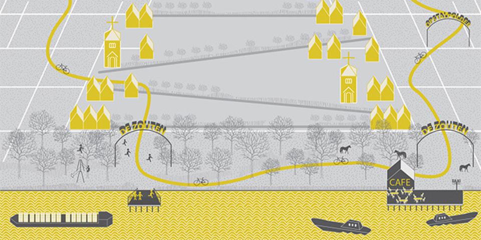 Toekomst Berendrecht en Zandvliet uitgebeeld