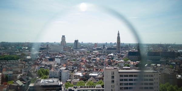 Skyline van Antwerpen