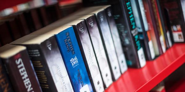 Boeken in de bibliotheek