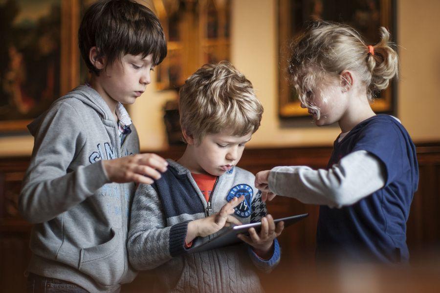Digitaal gezinsspel in de Antwerpse musea