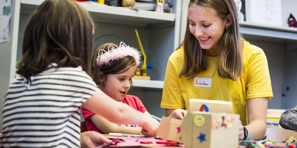 Het jaar door zorgen de vrijwilligers van jeugddienst Wilrijk voor leuke kinderactiviteiten.