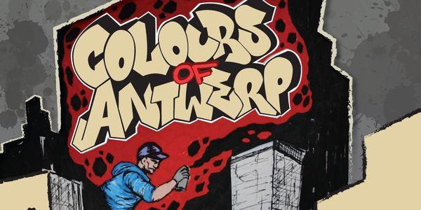 street art-festival Colours of Antwerp