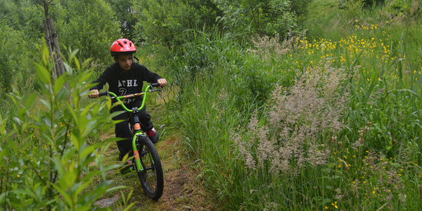 BMX in recreatiedomein Distelhoek