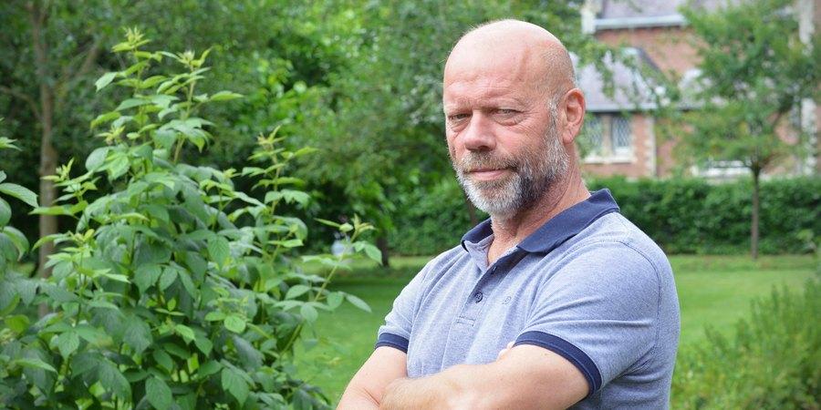 Portretfoto van Frank, vakspecialist bij de groendienst