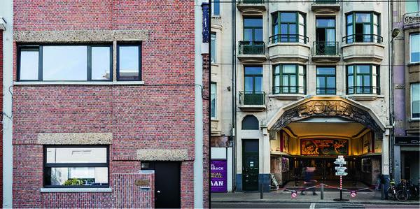 Winnaars Het Schoonste Gebouw 2017, v.l.n.r. Architectenwoning Walter Van den Broeck en De Roma