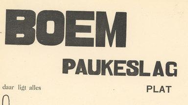 Paul van Ostaijen en 'Bezette Stad': dubbel jubileum in het Letterenhuis