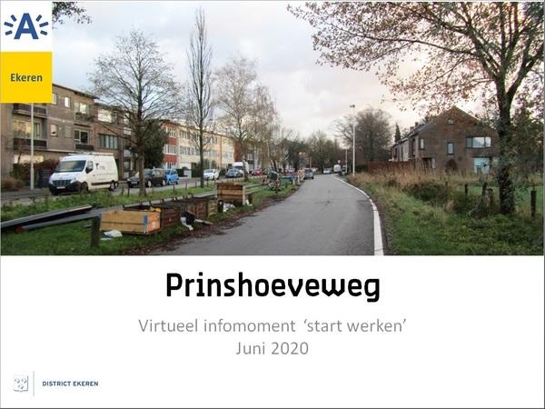 Beeld van de huidige Prinshoeveweg