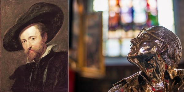 Collage Rubens en Jan Fabre